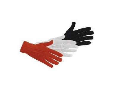 Αποκριάτικο Αξεσουάρ Γάντια Κοντά Λευκά