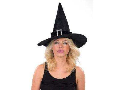 Αποκριάτικο Αξεσουάρ Καπέλο Μάγισσας
