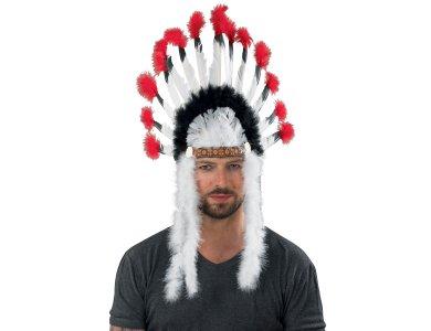 Αποκριάτικο Αξεσουάρ Καπέλο Ινδιάνου Αρχηγού