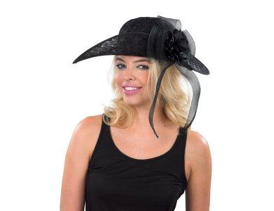 Αποκριάτικο Αξεσουάρ Καπέλο Χήρας