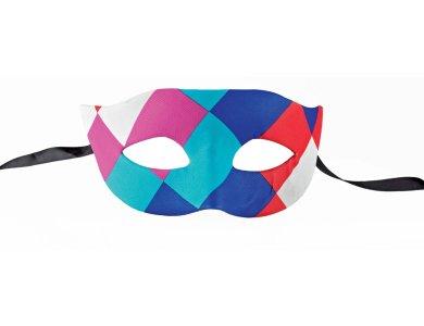 Αποκριάτικο Αξεσουάρ Μάσκα ματιών Πολύχρωμη