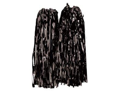 Αποκριάτικο Αξεσουάρ Πον-Πον Μαζορέτας 38Χ38cm Μπλε