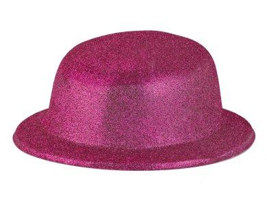 Αποκριάτικο Αξεσουάρ Καπέλο με γκλίτερ Χρυσό
