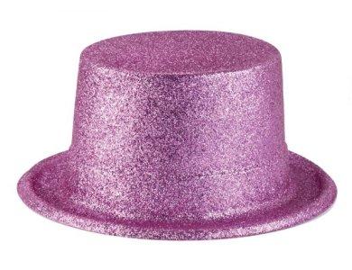 Αποκριάτικο Αξεσουάρ Καπέλο Ημίψηλο με γκλίτερ Χρυσό