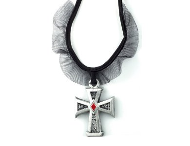 Αποκριάτικο Αξεσουάρ Σταυρός Βαμπιρ σχέδιο 1
