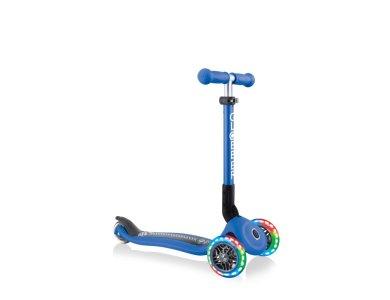 Globber Scooter Junior Foldable Fantasy Lights Racing Navy Blue