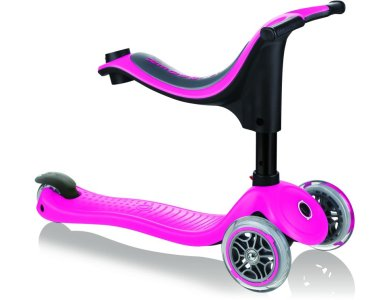 Globber Scooter Go-Up Sporty Deep Pink