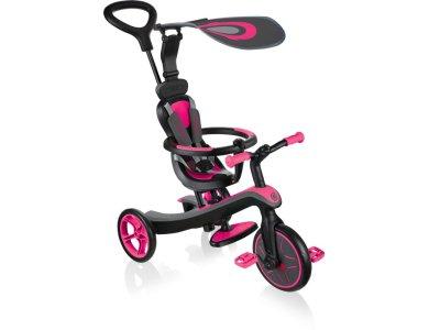 Globber Τρίκυκλο Trike Explorer 4in1 Fuchsia Pink