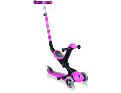 Globber Scooter Go-Up Deluxe Deep Pink