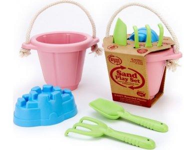 Green Toys - Σετ Κουβαδάκια Ροζ