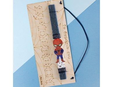 Λαμπάδα Spiderboy πινακίδα