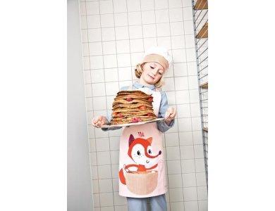 LITTLE CHEF. Ποδιά και καπέλο μάγειρα Alice
