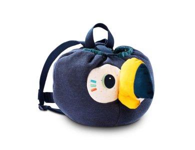 LILLIPUTIENS- Υφασμάτινη μαλακή τσάντα πλάτης Πάμπλο
