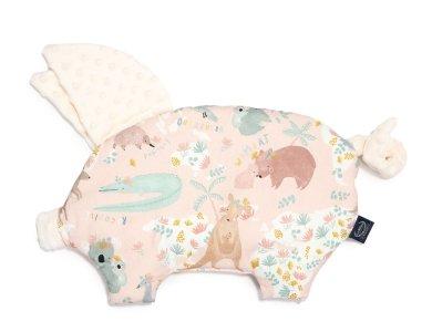SLEEPY PIG DUNDEE & FRIENDS PINK – ECRU