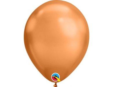 Μπαλόνια Λάτεξ 7'' Copper Chrome /100 τεμ