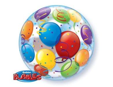 Bubble μονό Balloons