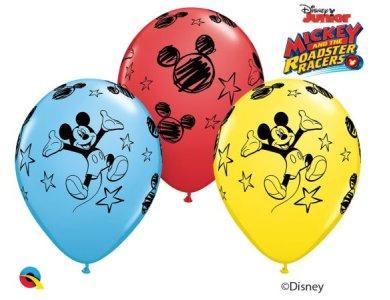 """Μπαλόνι . Λατεξ 11"""" Mickey Mouse /25 τεμ"""