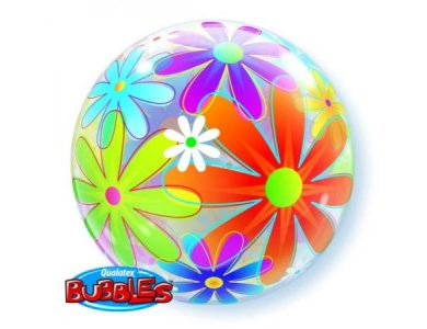 Bubble μονό Fanciful Flowers
