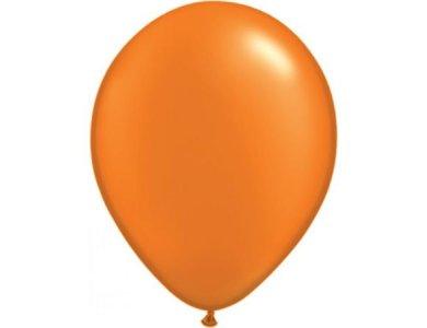 """Μπαλόνια 11"""" Pearl Mandarin Orange /100 τεμ"""