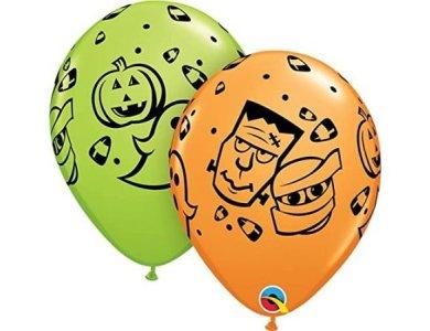 """Μπαλόνια Λάτεξ 11"""" Halloween Fun /25 τεμ"""