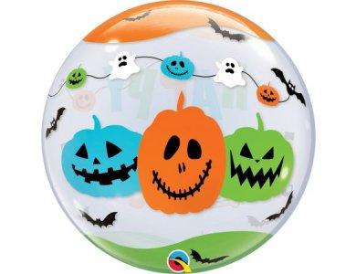 "Bubble Μονό 22"" Fun Font Halloween"