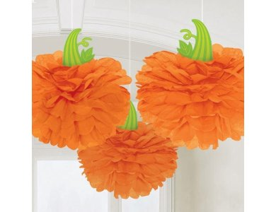 Fluffy Pumpkin Halloween 3 τεμ.