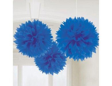 Fluffy Deco Μπλε 3τεμ.