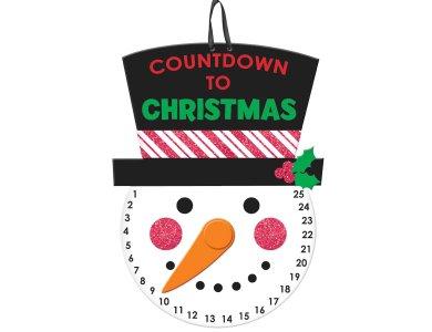 Πινακίδα Countdown To Christmas 40Χ25Εκ