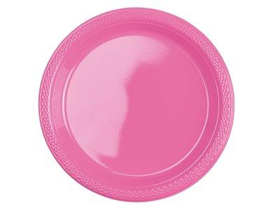 Πιάτα 17.7εκ πλαστικά Bright Pink /10 τεμ