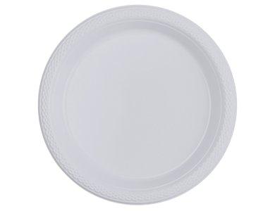 Πιάτα 17,7εκ πλαστικά Διάφανα /10 τεμ