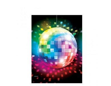 Πλαστικό Τραπεζομάντηλο Disco Fever
