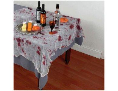 Τραπεζομάντηλο Γάζα με Αίμα Halloween