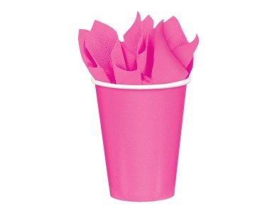 Ποτήρια χάρτινα 266 ml Bright Pink / 8τεμ.
