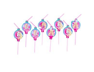 Καλαμάκια Barbie Dreamtopia 8τεμ.