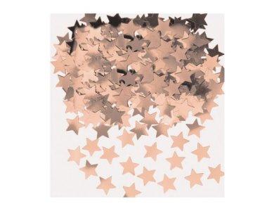 Κομφετί Αστεράκια Ροζ Χρυσό 14γρ