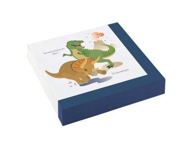 Χαρτοπετσέτες 33 εκ Happy Dinosaur /20 τεμ