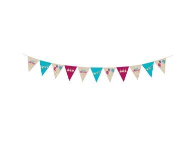 Γιρλάντα Σημαιάκια My Birthday Party 4Μ