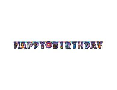 Γιρλάντα γράμματα Happy Birthday Lego Movie