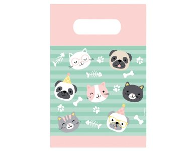 Τσάντες Δώρου Χάρτινες Hello Pets  / 8 τεμ
