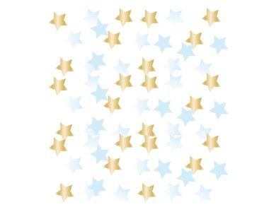 Κομφετί χάρτινο και φοιλ Γαλάζιο Πρώτα Γενέθλια - 14 γρ