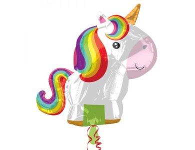 """Μπαλόνι Φοιλ Junior Shape """"Playful Unicorn"""""""