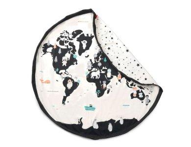 PLAY&GO. Στρώμα παιχνιδιού - τσάντα 2 σε 1. Worldmap