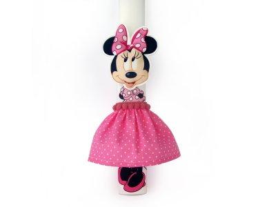 Λαμπάδα Minnie ροζ