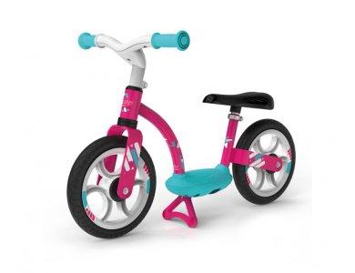Smoby Παιδικό Ποδήλατο Ισορροπίας Balance Bike Comfort Ροζ