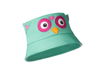 AFFENZAHN. Παιδικό καπέλο Bucket Κουκουβάγια - M