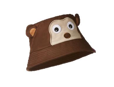 AFFENZAHN. Παιδικό καπέλο Bucket Μαϊμουδάκι - S
