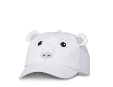AFFENZAHN. Παιδικό καπέλο τζόκεϊ Πολική αρκούδα - S