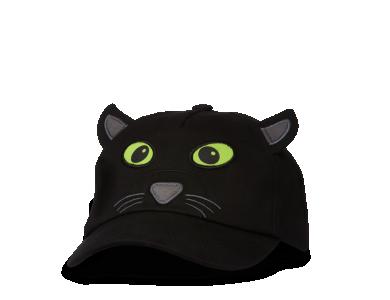 AFFENZAHN. Παιδικό καπέλο τζόκεϊ Μαύρος πάνθηρας - S